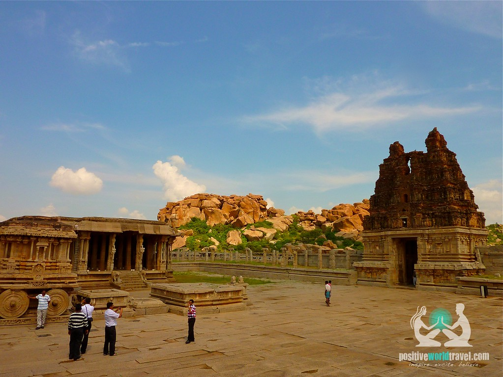 Temples of Hampi ruins