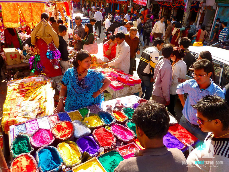 Coloured Powder in Kathmandu