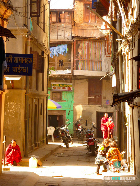 Small Street of Thamel