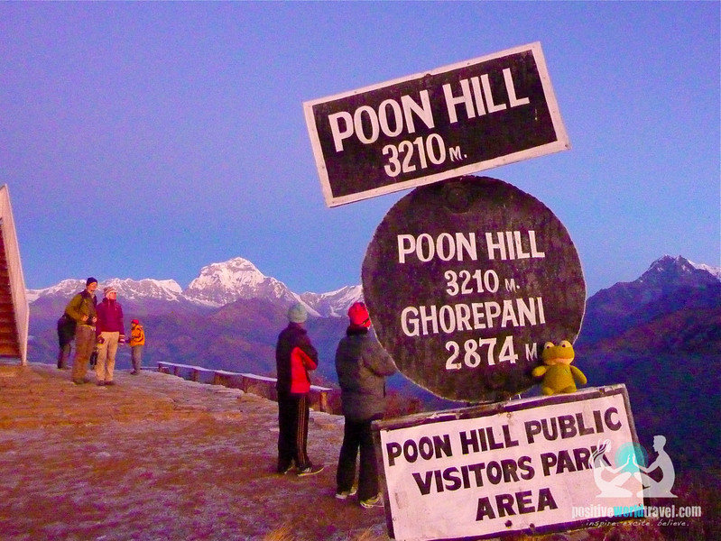 Poon hill trek sign