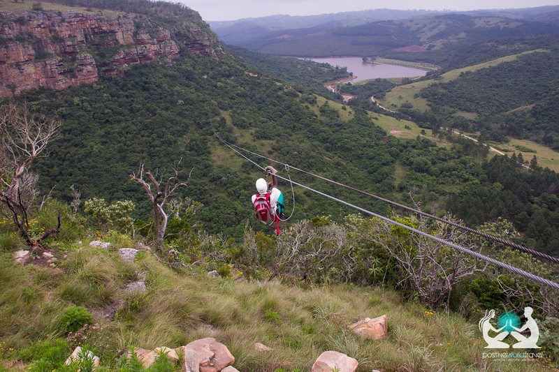 Zip lining South Africa