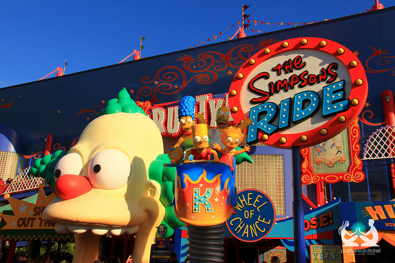 simpsons ride universal studios