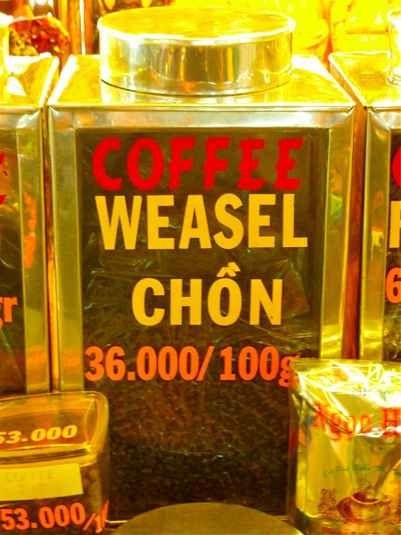 weasel coffee