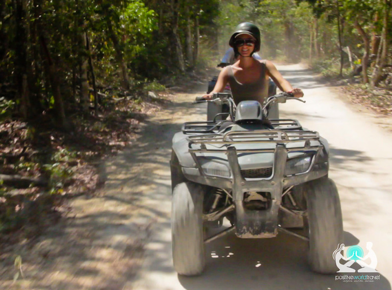 elise quadbiking